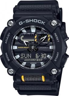 Casio G-Shock GA-900-1AER batterie resinarmband wasserdicht 20Bar