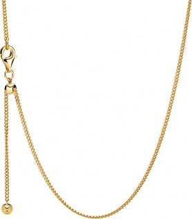 PANDORA Halskette 368638C00-60 Curb Chain SHINE Metall vergoldet 18kt