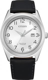 Citizen AW1640-16A Solar Herrenuhr Titan Leder Mineralglas