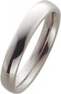 Trauring Palladium 585/-, Breite 4, 0mm, Stärke 2, 1mm