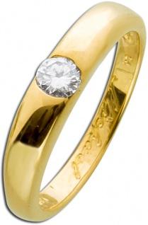 Solitärring Brillanten Diamantring Gelbgold 585 0, 20ct Online