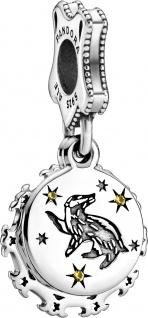 Pandora SALE Harry Potter Charm Anhänger 798832C01 Hufflepuff Silber