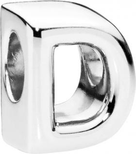 PANDORA Charms 797458 Alphabet Buchstabe D Silber 925