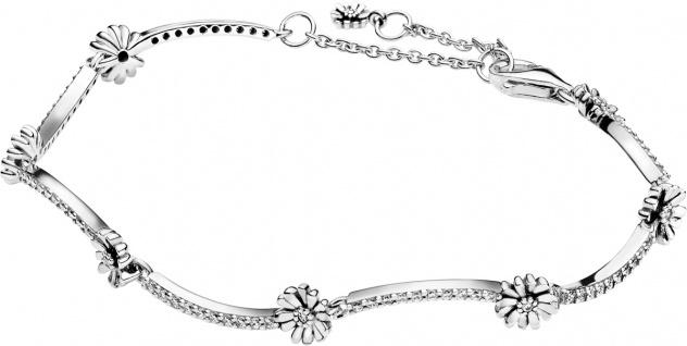 Pandora Garden Armband 598807C01 Sparkling Daisy Flower Bracelet