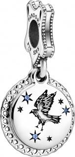Pandora Harry Potter Charm Anhänger 798831C01 Ravenclaw Silber 925