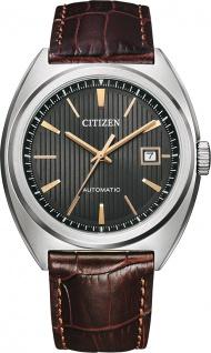 Citizen Uhr NJ0100-03H Automatikuhr für Herren Braun/Anthrazit