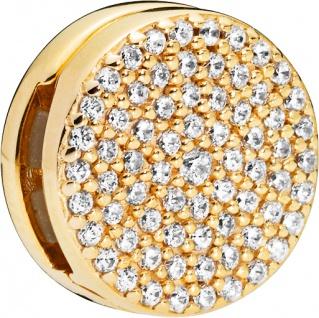 PANDORA REFLEXIONS Clip Charm 768669C01 Dazzling Elegance SHINE Metall