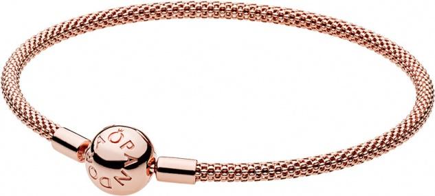 PANDORA Armbänder 586543 Moments PANDORA Rose Mesh Bracelet
