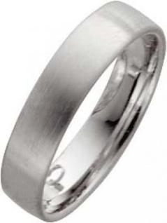 Weißgold in 14k 585/-, Breite 5, 0mm, Stärke 1, 4mm der Ring ist