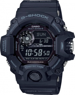 Casio G-Shock GW-9400-1BER Herren Uhr schwarz Quarz Digital