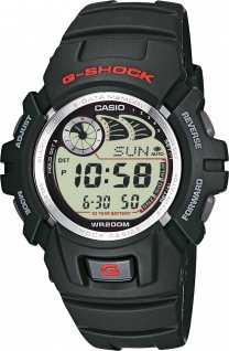 CASIO Herrenuhr SALE G-2900F-1VER G-shock schwarz digital Chronograph