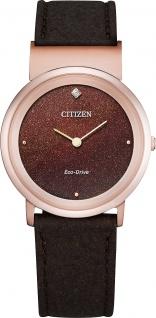 Citizen Uhr EG7072-19X Damen Eco Drive Diamant Citizen L Ambiluna