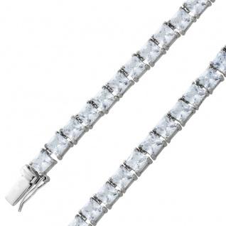 Zirkonia Collier Silber 925 Kette Damenschmuck