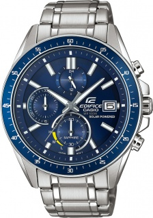 CASIO Herrenuhr EFS-S510D-2AVUEF Chronograph Solar Edifice 10bar
