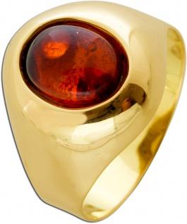 Antiker Citrin Ring Gelbgold 585 Edelstein Um 1960 TOP Zustand