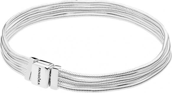 PANDORA REFLEXIONS Armband 597943 Multi Schlange Sterling Silber
