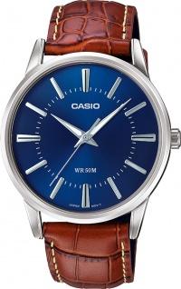 Casio Collection MTP-1303PL-2AVEF Herren Uhr Quarz Leder braun
