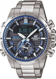 CASIO Edifice ECB-800D-1AEF Herrenuhr Bluetooth Solar Analog Digital