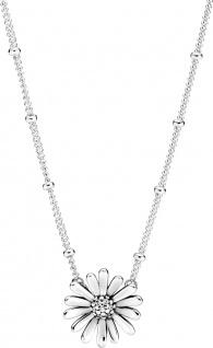 Pandora Halskette 398964C0145cm Pave Daisy Flower Sterling silver