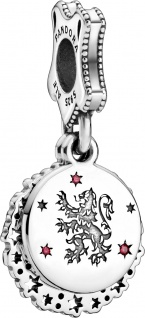 Pandora Harry Potter Charm Anhänger 798627C01 Gryffindor Silber 925