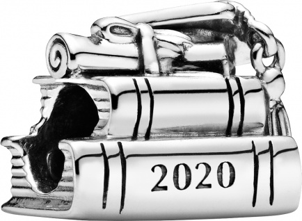 Pandora People Charm 798910C00 2020 Graduation Books Silber 925