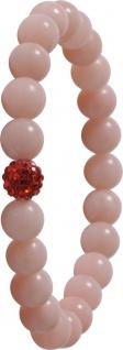 Edelstein Armband pinker Opal Power Buddha Armband Esoterik Shamballa
