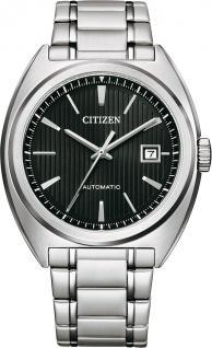 Citizen Uhr NJ0100-71E Automatikuhr Edelstahl Schwarz