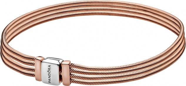 Pandora Reflexions Armband 588782C00 Multi Snake Chain Bracelet Rose