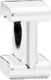 PANDORA Charms 797463 Alphabet Buchstabe I Silber 925