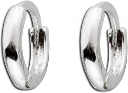Klappcreolen Helix Piercing Ohrmuschelrand Creole Silber 925