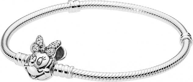 PANDORA DISNEY Armband 597770CZ Shimmering Minnie Portrait Silber 925