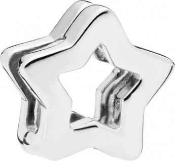 PANDORA REFLEXIONS Clip Charm 797544 Sleek Star Sterling Silber