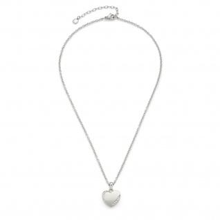 LEONARDO Halskette Grazia 016908 CIAO 40cm Herzanhänger Kristalle