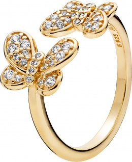PANDORA SHINE SALE Ring 167913CZ Dazzling Butterflies Schmetterlinge