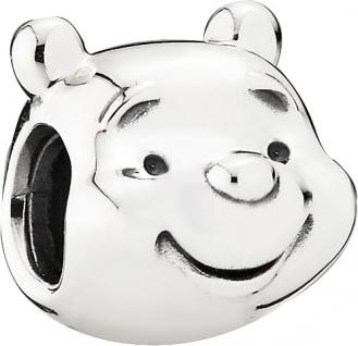 PANDORA Disney Charm 791566 Winnie Puuh Bär Portrait Silber 925
