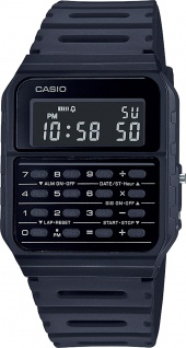 Casio Retro CA-53WF-1BEF Unsiex Uhr Quarz Digital schwarz