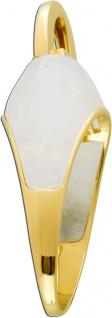 Antiker Jette Joop Rosenquarz Anhänger Antik 90er Jahre Gelbgold 585