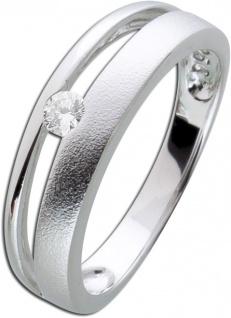 Silber Zirkoniaring weiß Silber 925 Damenschmuck