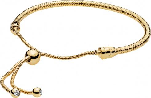 PANDORA Shine Armband 568640C01 Sliding Bracelet klare Zirkonia Silber