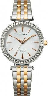 Citizen Uhr ER0216-59D Damen Quarz Rose/Edelstahl Bicolor Quarz Werk