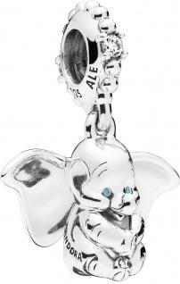 PANDORA Disney Charm Anhänger 797849CZ Dumbo Silber 925