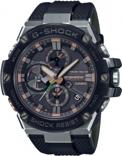 Casio Uhr GST-B100GA-1AER Edelstahl Resin