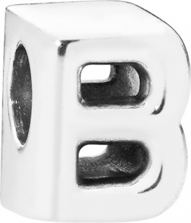 PANDORA Charms 797456 Alphabet Buchstabe B Silber 925