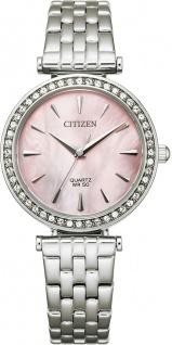 Citizen Uhr ER0210-55Y Swarovski Kristalle Damen Quarz Perlmutt