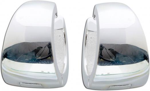 Scharniercreole Silbercreole Silberohrringe Ohrringe Klappcreolen