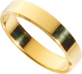 Trauring in Gelbgold hochglanzpoliert 333/- Breite 5mm, Stärke 1, 7mm