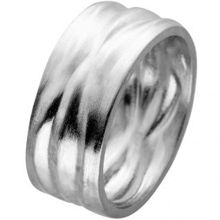 Ring Edelstahl mattiert mit strukturierter Oberfläche Vivien Lee