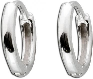 Klappcreolen Ohrmuschelrand Creole Helix Piercing Silber 925