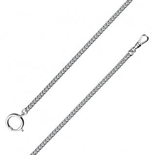Kette silberfarben Metall für Taschenuhren