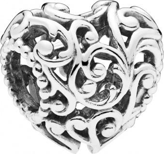 PANDORA Charm 797672 Regal Heart Silber 925 Herz Element